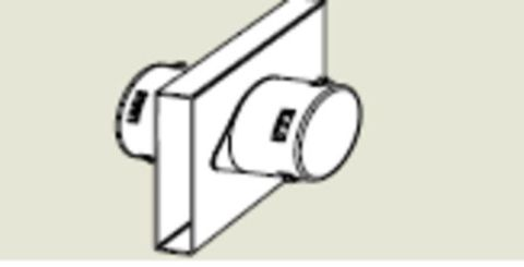 Form-A-Drain Double Outlet Fitting
