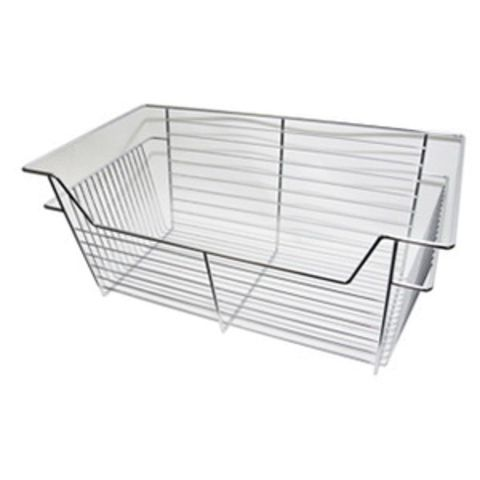 Easy Track Wire Basket - Chrome