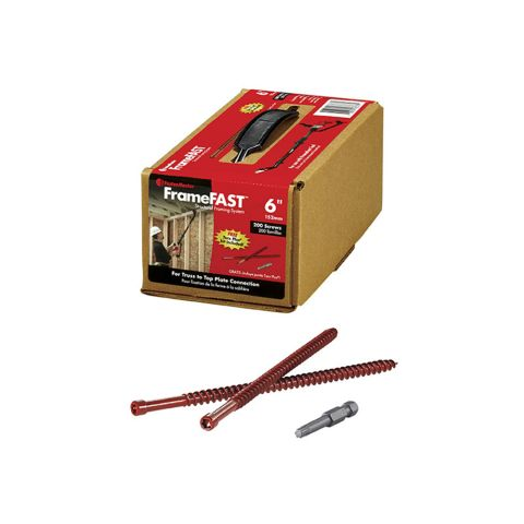 "FrameFAST 6"" Screws - Box of 200"