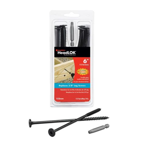 HeadLOK Structural Wood Screw -  Package of 12