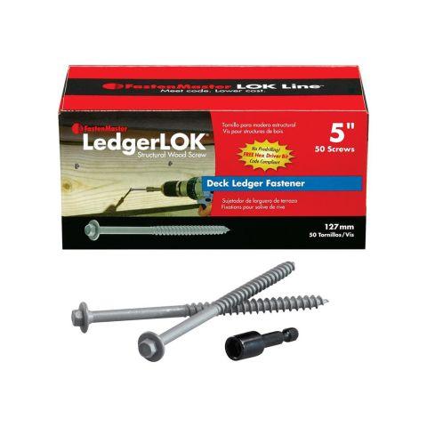 LedgerLok Ledger Board Fastener - Box of 50