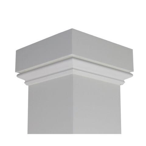 Artisan Cap - White with Smooth Finish