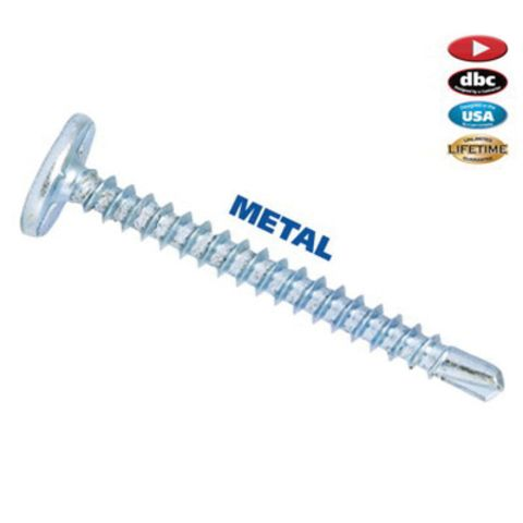 FastCap #2 Square Drive Power Head Metal Screw - #10