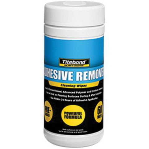 Titebond Adhesive Remover Cleaning Wipes