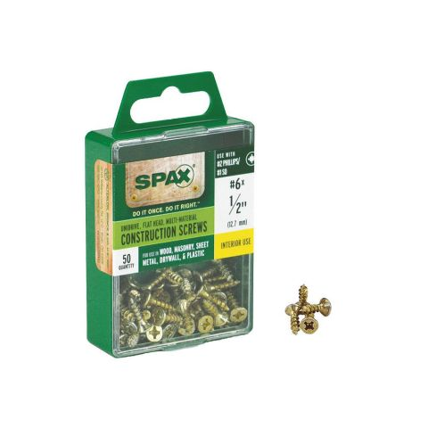 Grass Nickel Plated Spax Screw