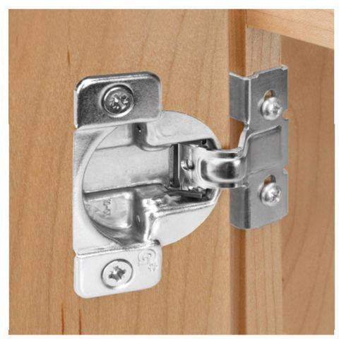 Grass TEC 861 Wrap-Around Dowelled Self Close 108 deg 42 mm Boring Hinge Cup, 1/2 in, for MDF Frame Material