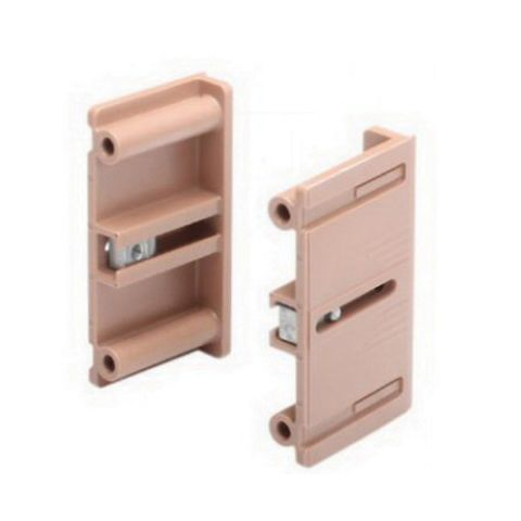 Grass Dynapro Inset Bracket Set, 2-7/8 in x 1-5/8 in x 1/2 in, Brown