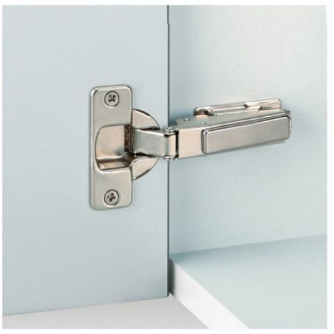 Grass Nexis Screw-On 95 deg 48 mm Boring Free-Swing Hinge, Half Overlay, Cranking 08