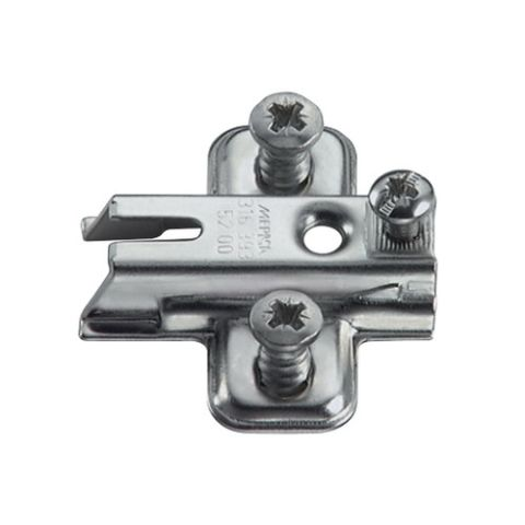 Grass Nexis 2 and 3-Point Fixing Base Plate, 0 mm Height Adjustment