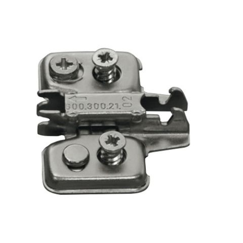 Grass Nexis Euro Screw 2 Point Fixing Cam Height Adjustable Base Plate
