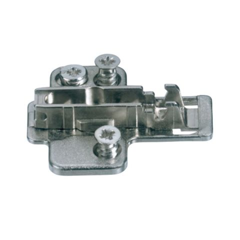 Grass Nexis Pre-Mounted Euro Screw 2 Point Fixing Cam Base Plate