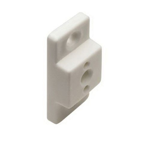 Grass 6195 Spacer, 11 mm (7/16 in), Screw-on, White