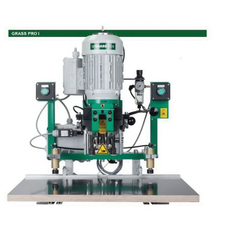 Grass PRO1 220 Volt Single Phase Pneumatic Boring and Insertion Machine For 45 mm Boring Pattern