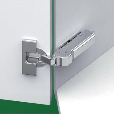 Tiomos Impresso +37° Angle Corner Cabinet Hinge for Inset Doors - Soft Close