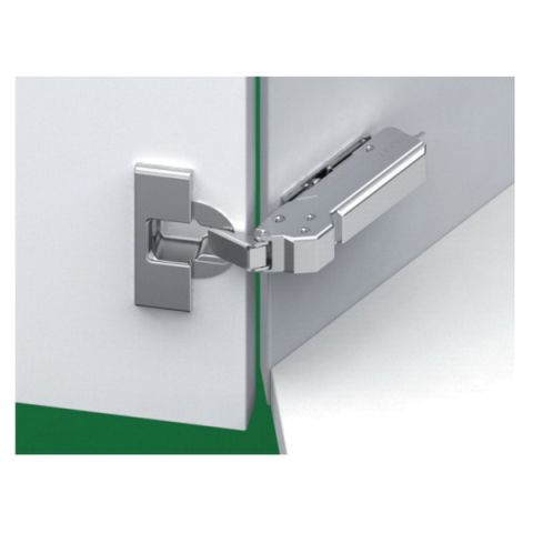 Grass Tiomos Screw-On Soft Close 110 deg +45 deg Angle 45 mm Boring Hinge, Overlay, 19.5 mm