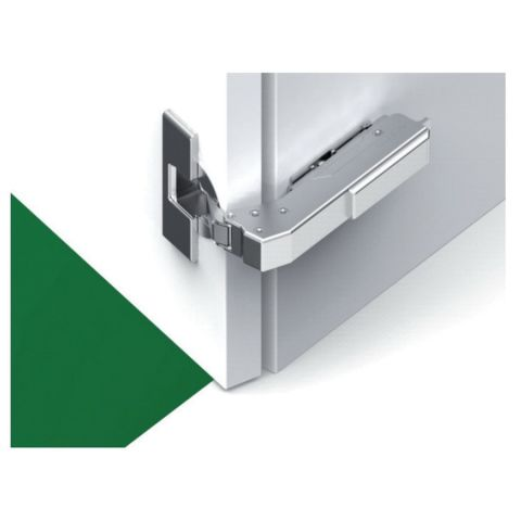 Tiomos Impresso 110° Blind Corner Hinge for Inset Doors - Soft Close