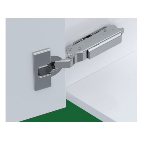 Tiomos Impresso -30° Angle Corner Cabinet Hinge for Overlay Doors - Soft Close