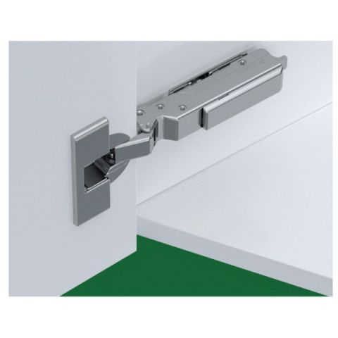 Grass Tiomos Screw-On Self Close 120 deg -15 deg Angle 45 mm Boring Hinge, Overlay, 18 mm