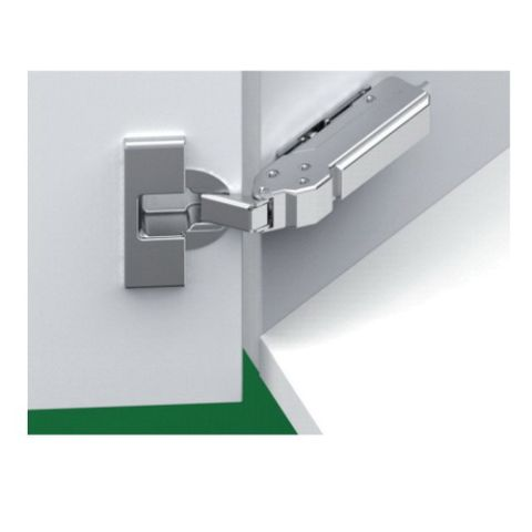 Grass Tiomos Screw-On Self Close 110 deg +30 deg Angle 45 mm Boring Hinge, Overlay, 20.5 mm