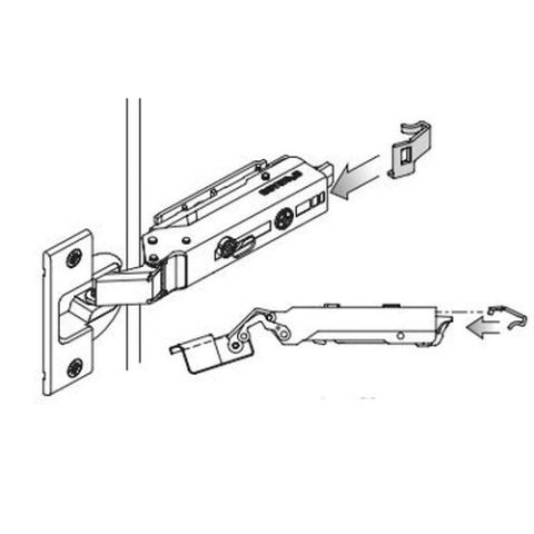 Grass Hinge Clip Protection, For Tiomos 160 deg Standard Hinges