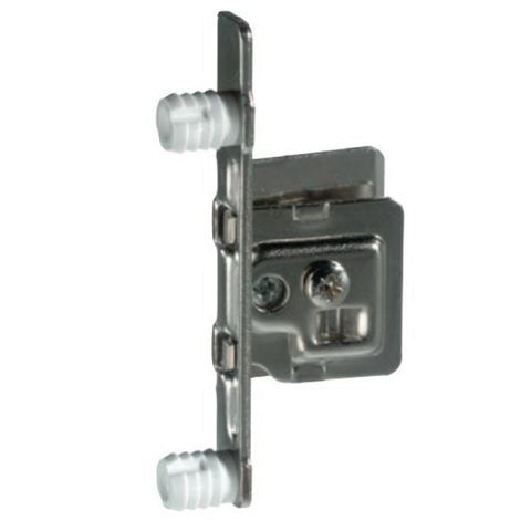 Grass Press-In Dowel Mount Slide-On Front Fixing Right Hand Bracket, For Integra 9113/9213/9313 Drawer system