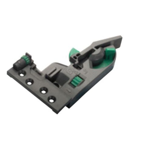 Grass Dynapro Right Hand 3D Flanged Front Locking Device, Black
