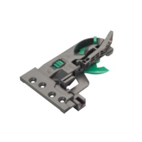 Grass Dynapro Left Hand 2D Flanged Front Locking Device, Black