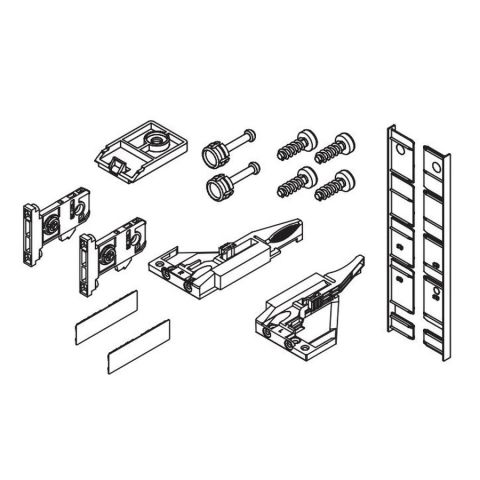 Grass Vionaro H185 Inset Drawer Accessory Set