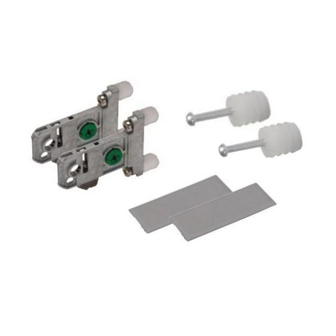 Grass Vionaro Adapter Set, White, for 185 mm Height Drawer Side