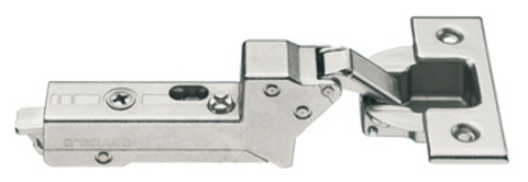 Grass Tiomos Screw-On Soft Close 110 deg 45 mm Boring Blind Corner Hinge, Inset, 22 mm