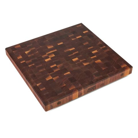John Boos American Black Walnut End Grain Island Top - 2-1/4 in Thick