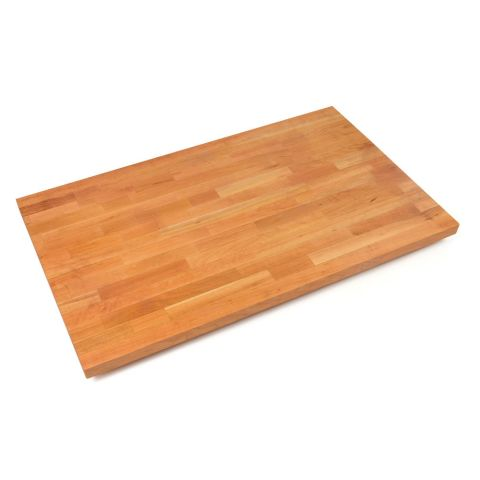 John Boos American Cherry Blended Butcher Block Top - 1-1/2 in Thick