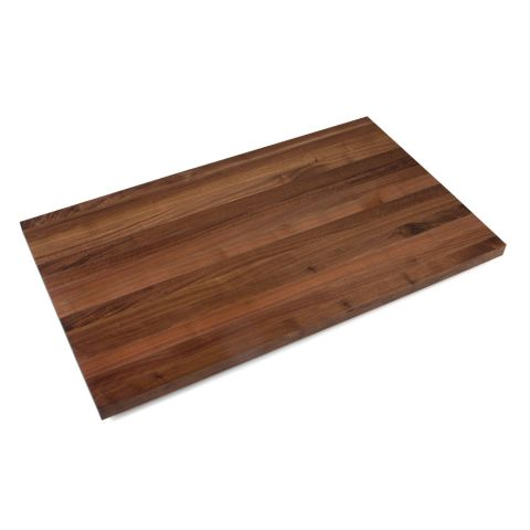 John Boos American Black Walnut Butcher Block Top - 1-1/2 in Thick