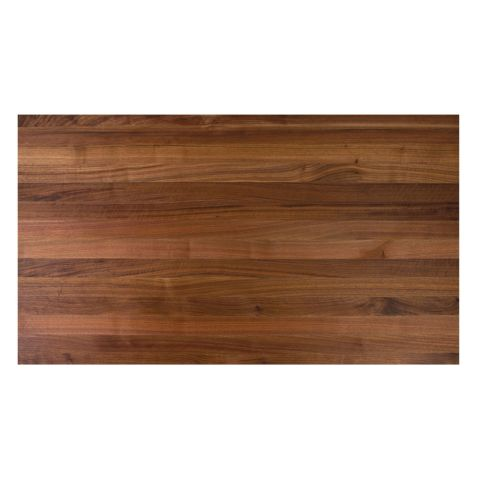 John Boos American Black Walnut Butcher Block Top - 2-1/4 in Thick