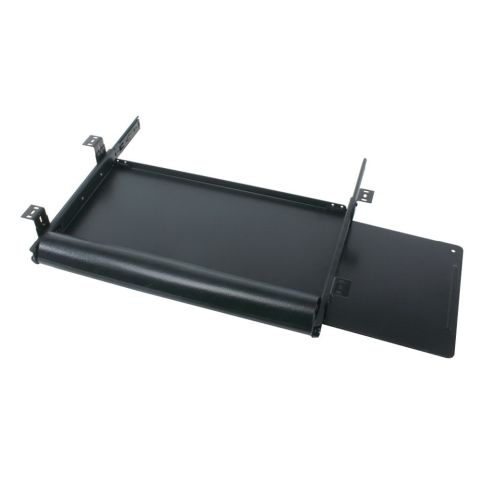 KV 21.8 in x 18 in Keyboard Drawer with Adjustable Palm Rest and Sliding Mouse Tray