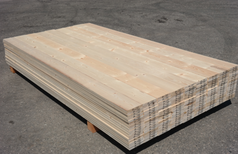 1 x 6 Grade #2 Pine Eased Edge HQ Boards - Surfaced Four Sides