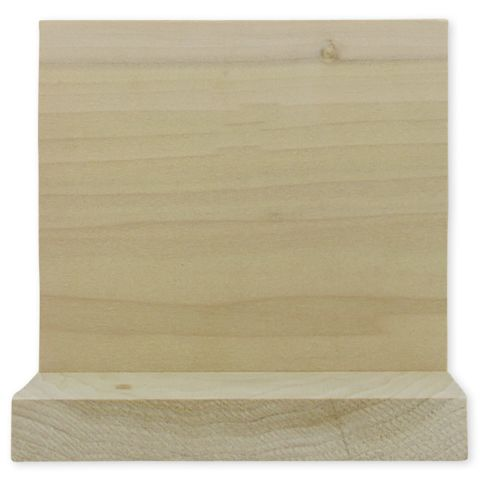 1 x 8 Sanded Poplar Boards - S4S, Clear Face - Random Lengths