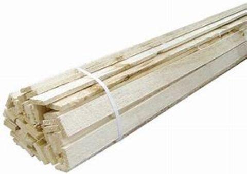 #1 & #2 Wood Lath Aspen (50 Pc/Bdl)