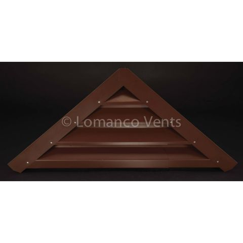 Lomanco  #910 Triangular Gable Louver - 51-1/4 in