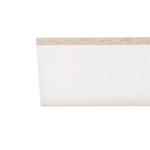 Roseburg MelaGard White Melamine Square Edge Shelving - 145 Inches