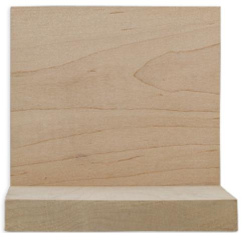 1 x 6 Sanded Maple Boards - S4S, Clear Face - Random Lengths