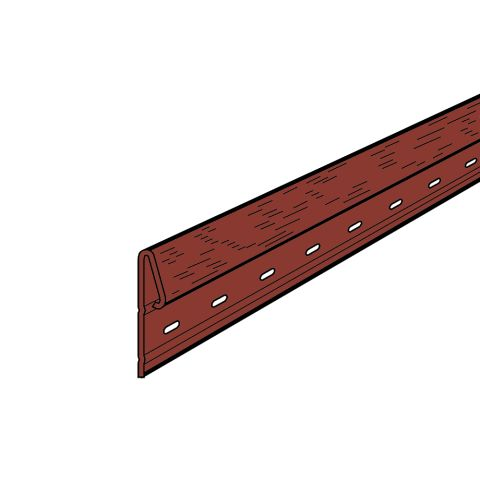 Rollex Aurora Steel Undersill Trim - 25 Pcs/Carton
