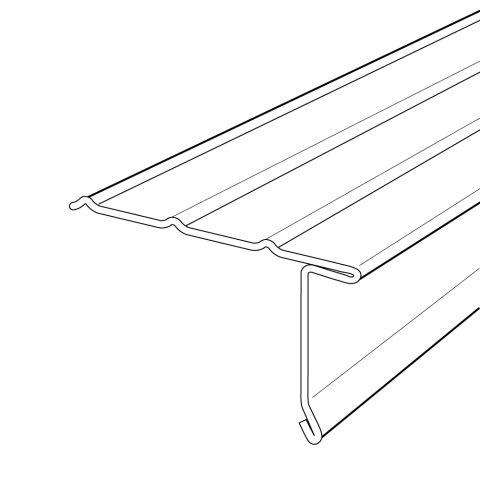 Rollex Overhanging Drip Edge - ODET4412