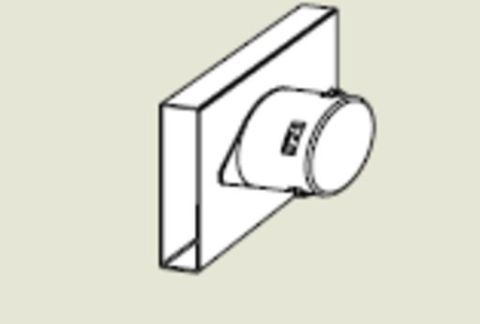 Form-A-Drain Single Outlet Fitting
