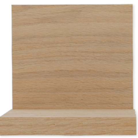 1 x 8 Red Oak Sanded Boards - S4S, Clear Face