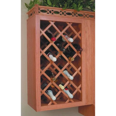 Omega National Products Deluxe Wine Rack Lattice Panel