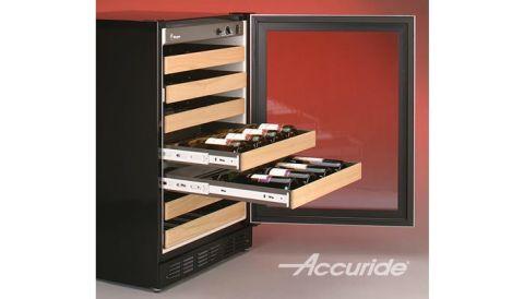 Accuride 3832 100 lb Light Duty Full Extension Drawer Slide - Bulk Pallet