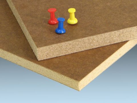 PolyBak-Tak 49 x 97 Tackboard Panel - BP69  Backer 2 Sides