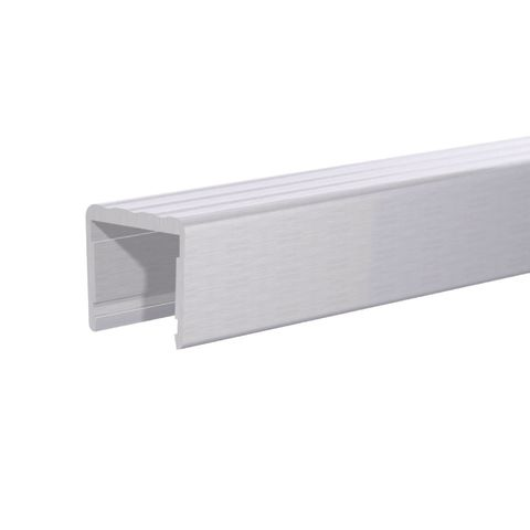 Aluminum Shelf Cap, 8 ft