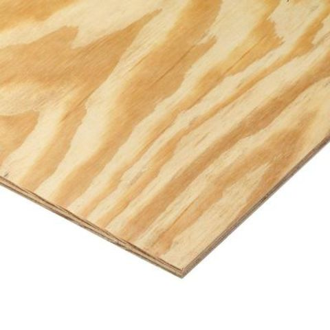 Southern Yellow Pine Premium Plywood Siding - Plain Square Edge